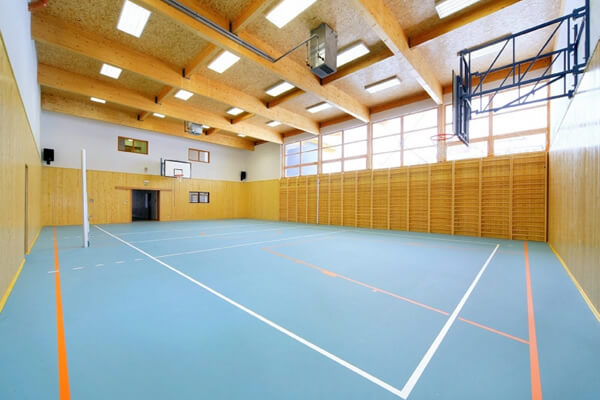 Multifunctional sports hall
